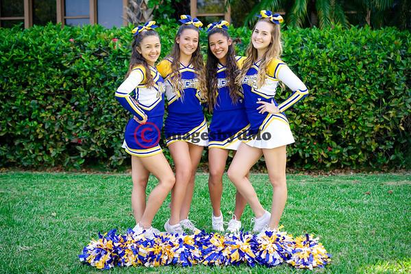 Nativity Knights Cheerleaders 2017-18