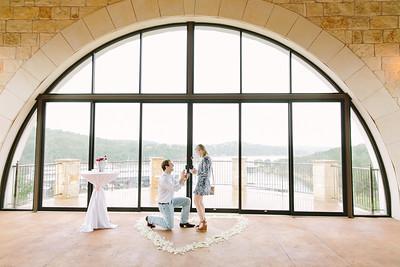 Caroline & Brad's Proposal