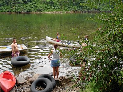 Saturday River Scenes