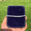 9.50ctw Round Brilliant Diamond Tennis Bracelet 20