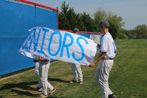 Prep Baseball's Senior Day Ceremony - May 4