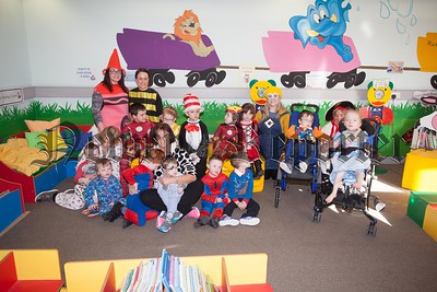 Pictured are Early Years Classes at rathore during World Book Day. R1610012