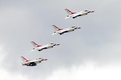 USAFA Graduation 2015 with the Thunderbirds