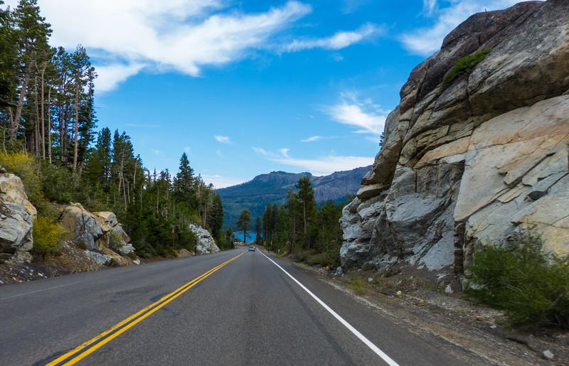 Carson Pass Highway (CA 88) heading  to  Kirkwood