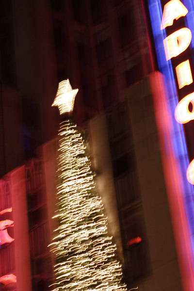 Christmas 2006 in New York City.