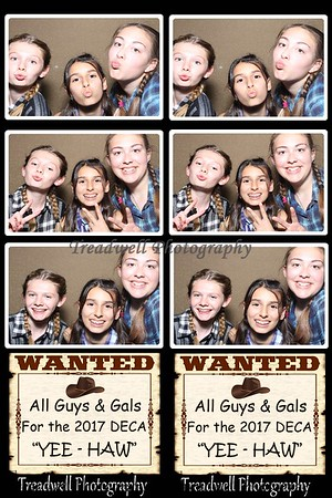 DECA Dance 2017 Photo Booth
