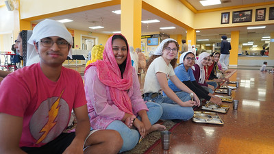 Teen Council Visits Sikh Gurdwara, San Jose