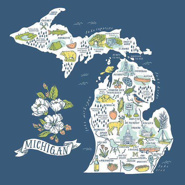 Michigan Slideshows Collection