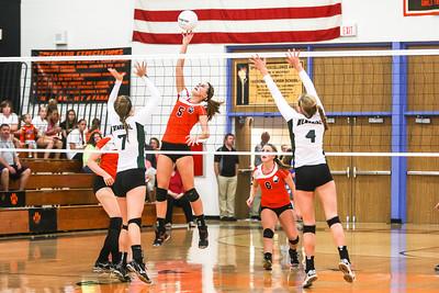 Madison Memorial Girls Volleyball - Sept 24, 2013