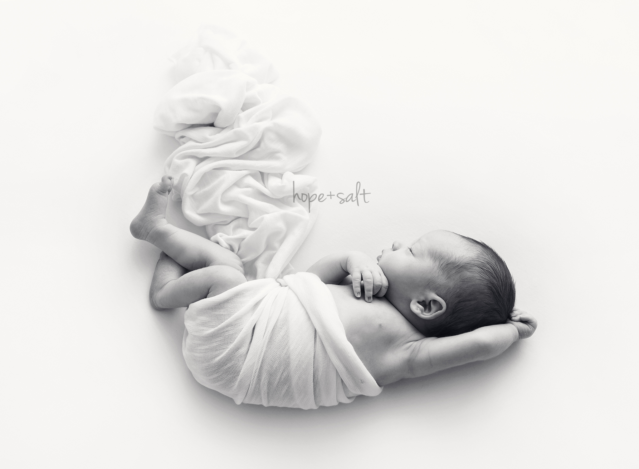 burlington newborn photographer - simple pure white natural neutral session for baby boy Edison and family
