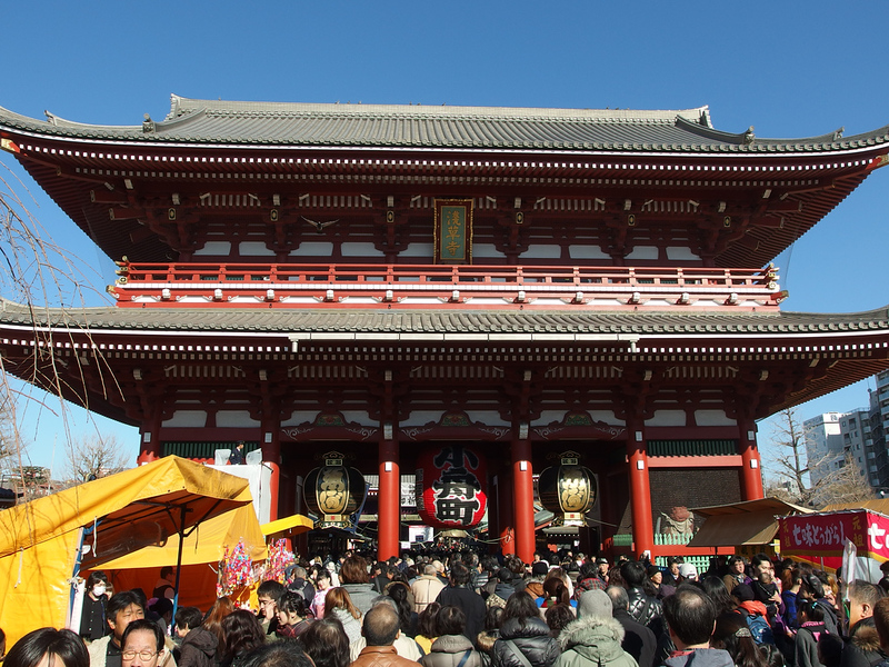 New Year @ Senso-ji @ Asakusa