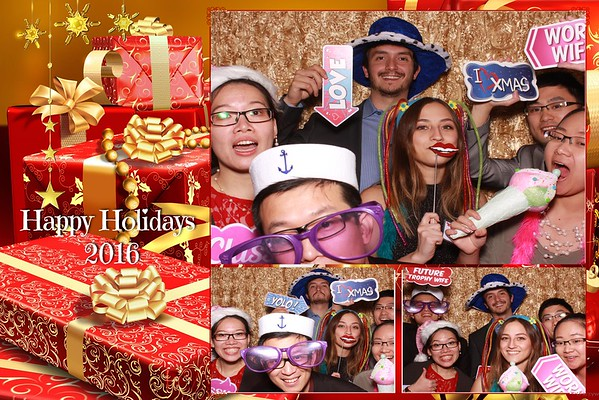 Deloitte's Holiday Party 2016