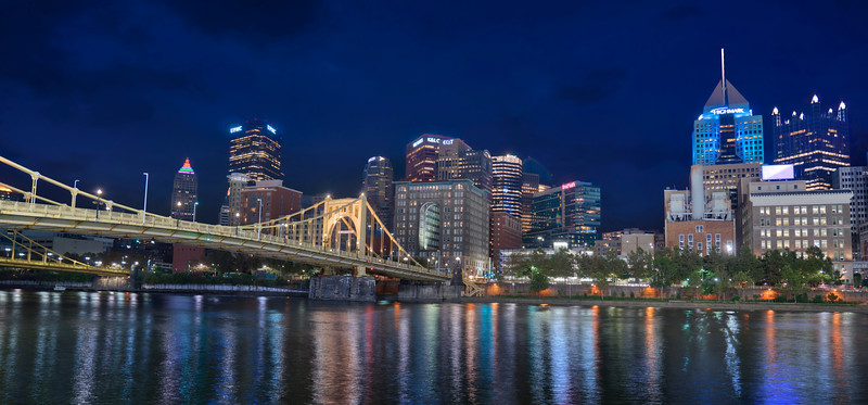 Pittsburgh in the Night