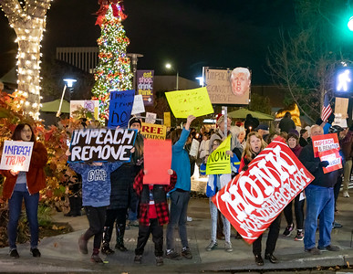 Dec 17 Impeachment Eve Rally - Palo Alto