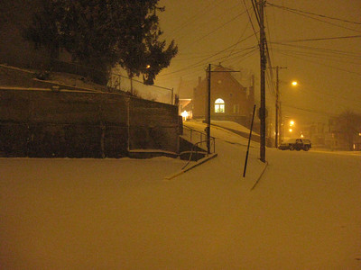 A Snowy Night - 20090222