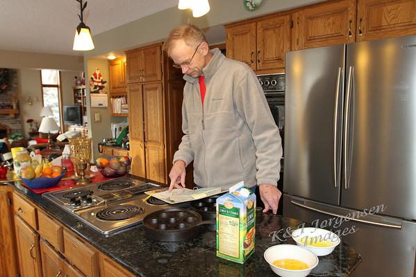 Aebelskiver Breakfast at Home