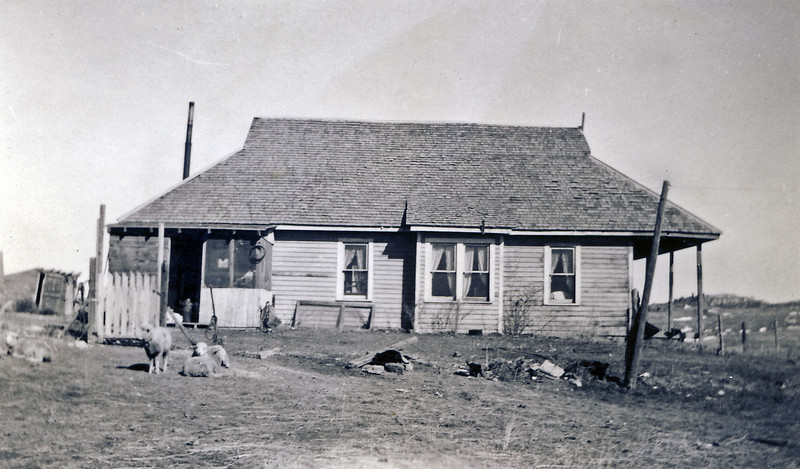 Bill and Laura Nelson Schloredt home north of Rozet WY.jpg