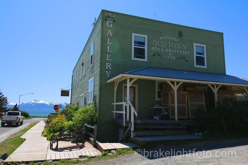 Historic Old town B&B, Homer