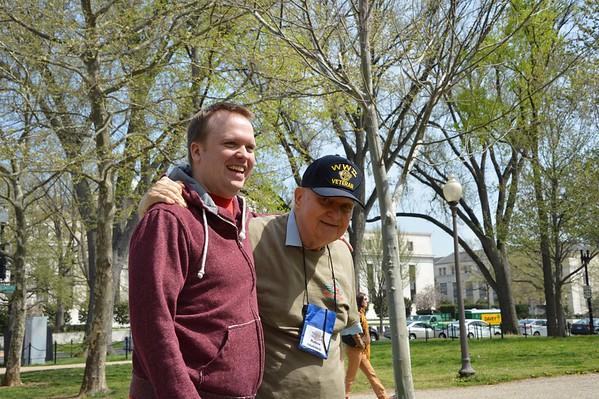 Vietnam War Memorial April