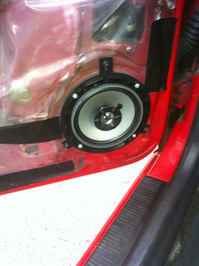 1997 Jeep Grand Cherokee Limited Edtion 5.2L V8  Front and Rear Speaker Installation - USA