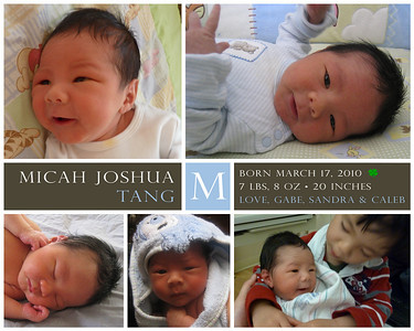 Micah 0 Months Old