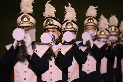 Saline Marching Band Senior Night 2020