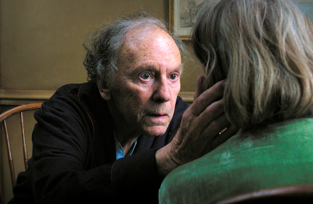 ". This film image released by Sony Pictures Classics shows Jean-Louis Trintignant in a scene from the Austrian film, ""Amour.\"" (AP Photo/Sony Pictures Classics, File)"