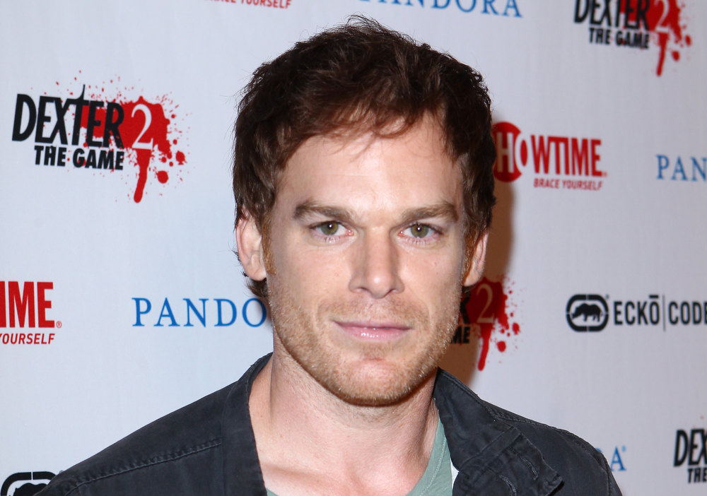 ". Actor Michael C. Hall attends Showtime\'s ""Dexter\"" Red Carpet Photo Op during Comic-Con International 2012 held at the Omni Hotel on July 12, 2012 in San Diego, California.  (Photo by Alexandra Wyman/Getty Images)"