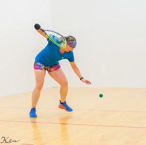 2019-09-28 Women's Singles - Open Qtrs Thelma Ruhlen over Megan Shelton