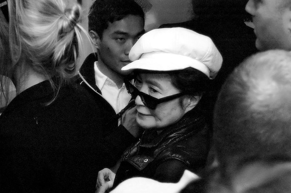 YOKO ONO AT NJCU - ANREI - 26 OCTOBER 2008