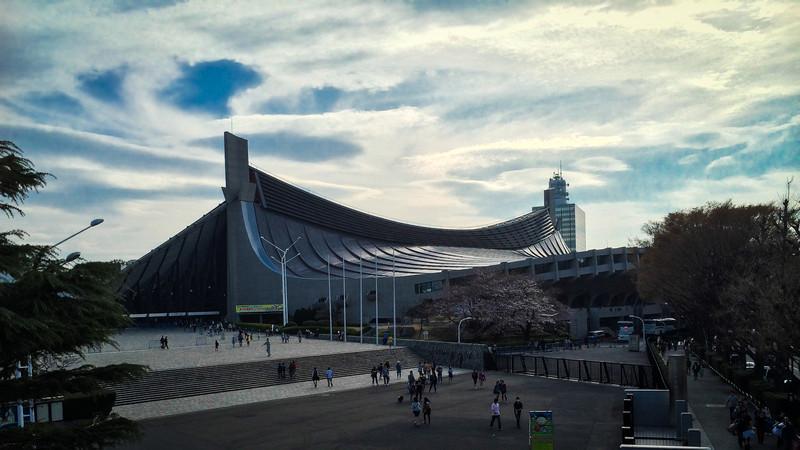 Yoyogi National Gymnasium, Harajuku, Tokyo, Japan