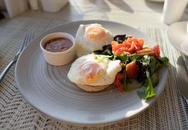 Breakfast at the Ikos Dassia, Corfu