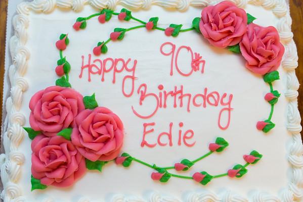 Edie 90th birthday party