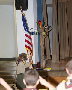 September Pack Meeting - Bobcat Ceremony