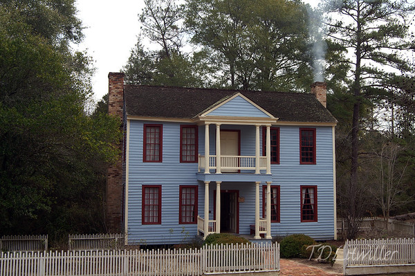 Westville 1850s village,  Lumpkin GA