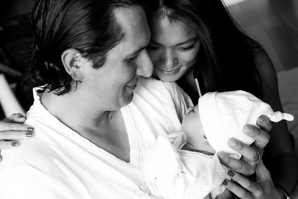 Christina, Seth, and Kensington's family shoot