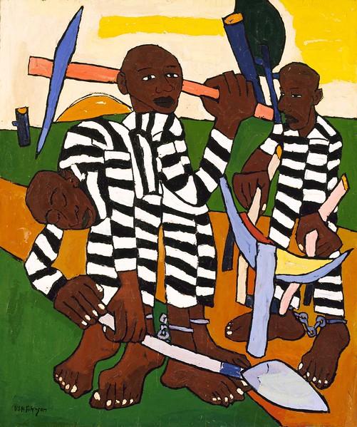 "William H. Johnson, ""Chain Gang"" (ca. 1939)"