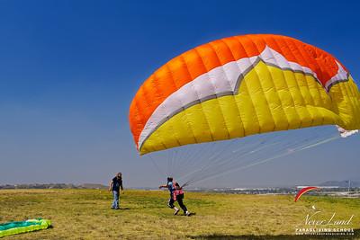 NeverLand Paragliding Lessons, April 28, 2018