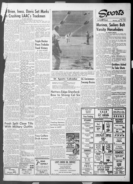 Daily Trojan, Vol. 44, No. 114, April 20, 1953
