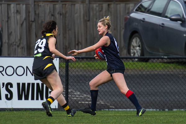 Waverley Warriors v Box Hill North - 2018 Monarch Women's AFL Masters Victorian Metropolitan Superules Round 2 Game 2