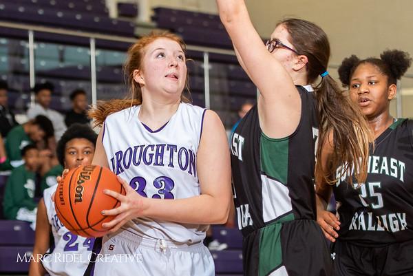 Broughton basketball vs Southeast Raleigh.  January 28, 2019. 750_8402