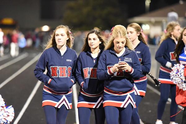 Cheerleaders - Waverly Football Game