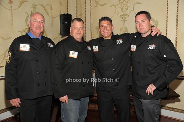 Frank Guinan, Tom Gorman, Frank Ciofrone, Greg Gormsen (Team Old Westbury PD) photo by Rob Rich/SocietyAllure.com © 2014 robwayne1@aol.com 516-676-3939