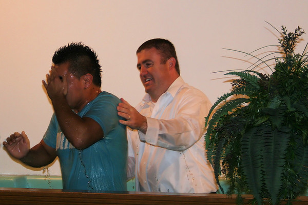 Baptismal Service - December 2007