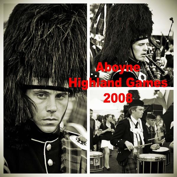 Aboyne Highland Games 2008