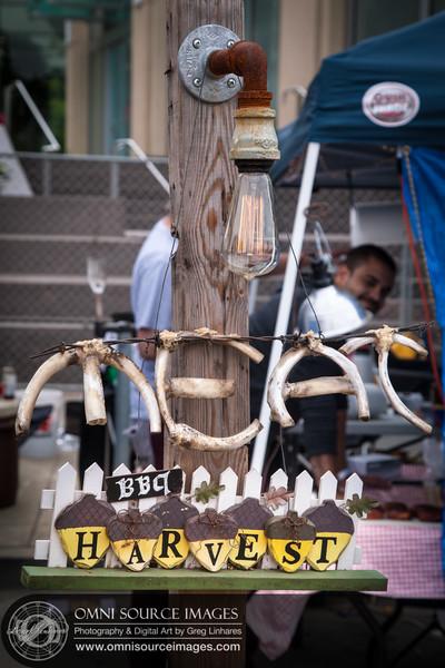"""Harvest BBQ """"MEAT"""" Bones. Oaktown Throwdown BBQ Competition 2014"""