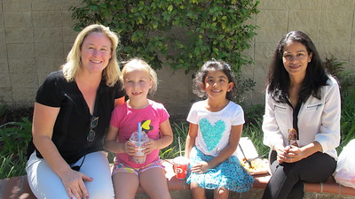 LCE Lays Out a Picnic Lunch