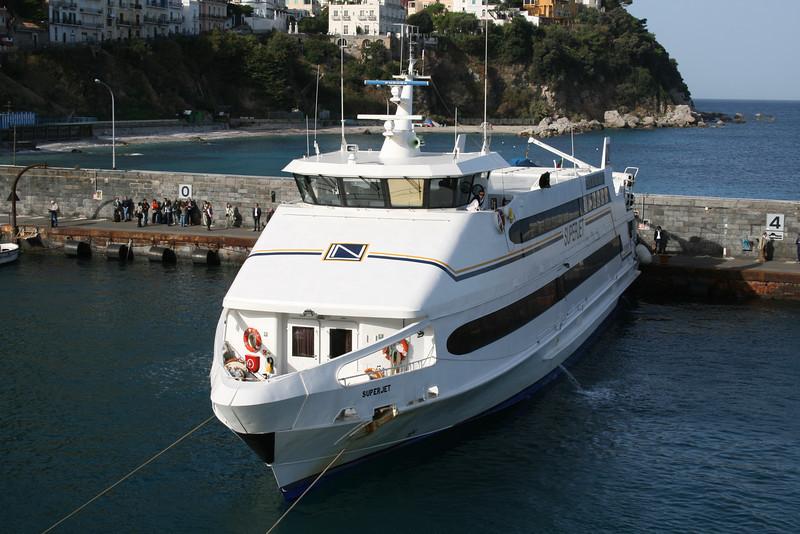 2008 - HSC SUPERJET in Capri.