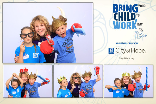 City of Hope - Bring Your Child To Work Day Prints