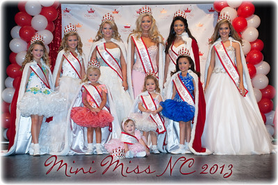 Mini Miss NC 2013